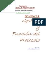 Seminario Empresa y Protocolo
