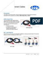 SFRA Cables Quick Reference