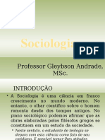 Sociologia - CETAD Semi Presencial