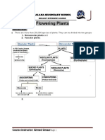 Flowering Plants Lecture One