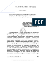 TRAGEDIA - FILOSOFÍA COMO TRAGEDIA, NIETZSCHE.pdf