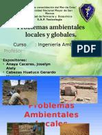 Problemas Ambientales Locales y Globales