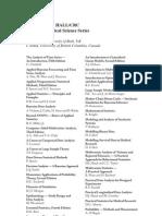 Generalized Linear Models 2nd Ed