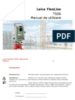 Manual Leica FlexLine Total Station