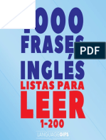 200 Frases Inglés