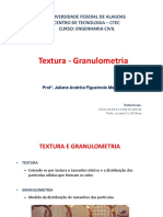 Aula Textura - Granulometria