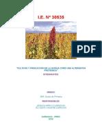 Cultivo y Produccion de La Quinua