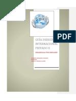Guía Derecho Internacional Privado II