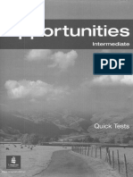 New Opportunities Int (Quick Tests)