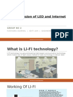 Li-Fi – a Fusion of LED and Internet