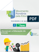 Apresentação Movimento Rondonia pela Educação REUNIÃO SEDUC.ppt