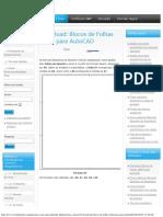 Download_ Blocos de Folhas ABNT Para AutoCAD