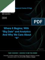 Presentación del Dr.Bernard Meyerson, CIO de IBM en IV Summit País Digital 2016