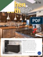 Kitchen & Bath Design - August 2016
