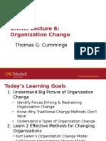 Organization Change 304 Online Lecture