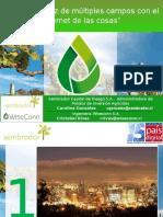 """Gestión Eficaz de Múltiples Campos Con El Internet de Las Cosas"""" Summit Pais Digital 2016_V1"""