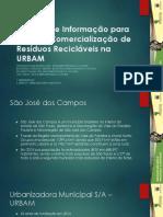 Sistema de informação para Leilão e comercialização de resíduos recicláveis
