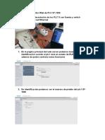 Procedimiento Servidor Web de PLC S7