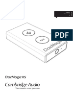 DacMagic XS USB DAC Headphone Amp - User Manual - English