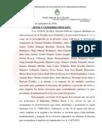 Ercolini llamó a indagatoria a Cristina Kirchner
