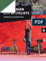 Copenhagens Biycle Account 2014