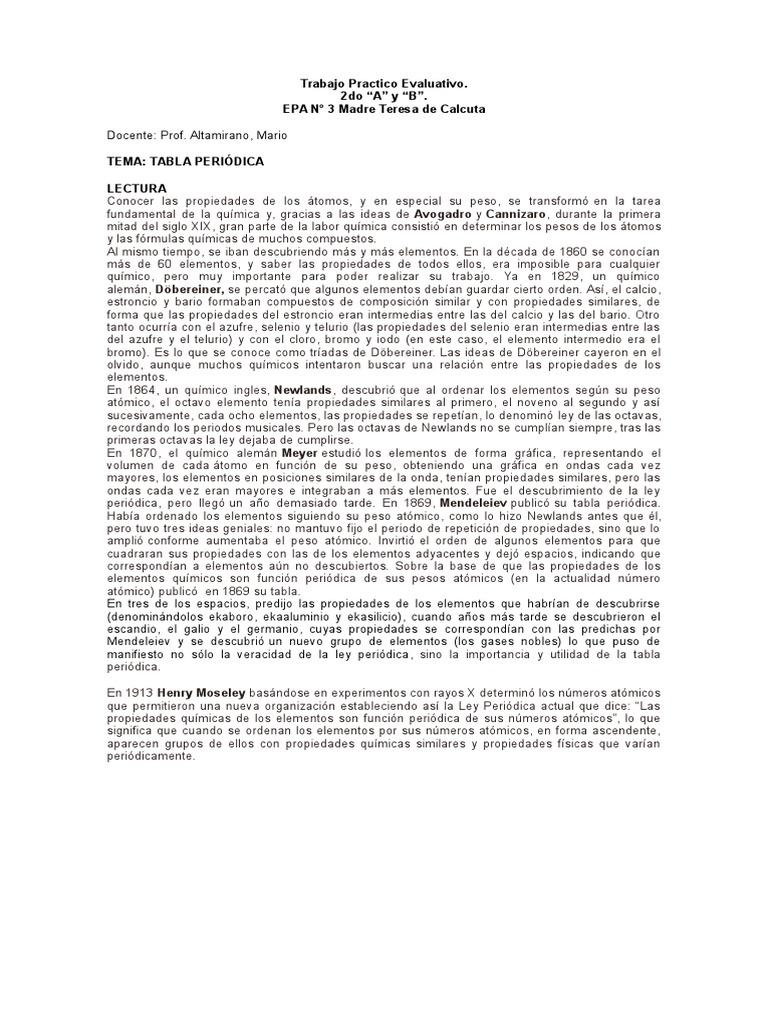 Taller 2 tabla peridicac urtaz Image collections