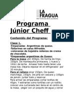 Programa Júnior Cheff copia
