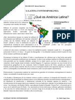 América Latina Contemporánea-II
