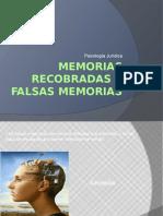 Memorias Recobradas y Falsas Memorias