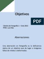 Objetivos - Pfrh Luis Polo - Fotografia 1 2013