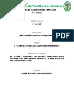 Unidad II Mantenimiento Predictivo Mecanico