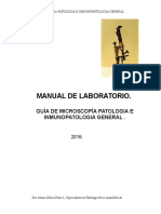 Manual Laboratorio de Patologia General.