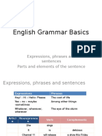 1 English Grammar Basics - Generalities