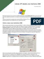 Como Instalar Windows Xp Desde Una Memoria Usb 2937 Nz7xcu