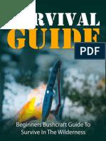 Hiking – Camping – Bushcraft Survival Guide
