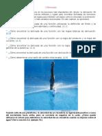 Cap 2,Seccion 2.1, La Derivada y El Problema de La Recta Tangente