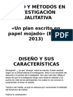 1- DISEÑO Y METODOS CUALITATIVOS