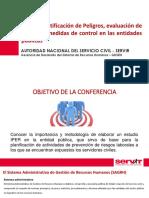 Presentacion Iper Peligros Riesgos Control Ago2016
