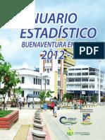 Anuario Estadistico Buenaventura 2012 - 2013