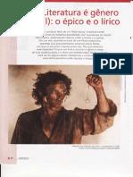 Maria Luiza -Literatura - CAP.3-LITERATURA GENERO EPICO E LIRICO