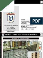 SEMINARIO DE TECNOLOGÍA Y CONSTRUCCIONES