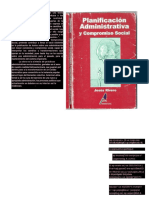 Planificación Administrativa y Compromiso Social. Jesús Rivero