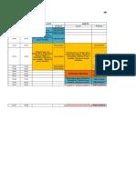 HORARIO - Reforzamiento 2016-II Matemáticas y Química