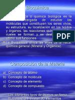 BIOQUIMICA CONCEPTO GENERALES