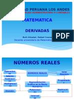 DERIVADAS (MATEMATICA)