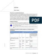 Especificaciones Combustible MTU