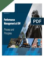 Performance Management at GW Fundamentals