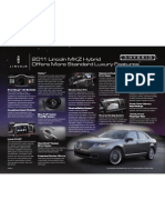 2011 Lincoln MKZ Hybrid Technology Overview