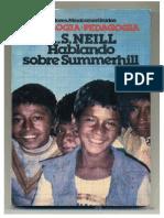 Neill a s Hablando Sobre Summerhill