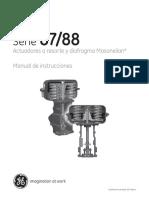 87-88 Actuators - Instruction Manual (ES)